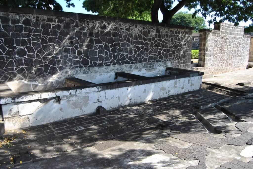 l'emplacement des bains - Aapravasi Ghat