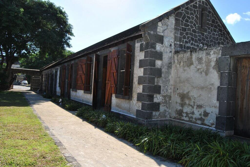 hôpital de l'immigration -Aapravasi Ghat - Port-louis