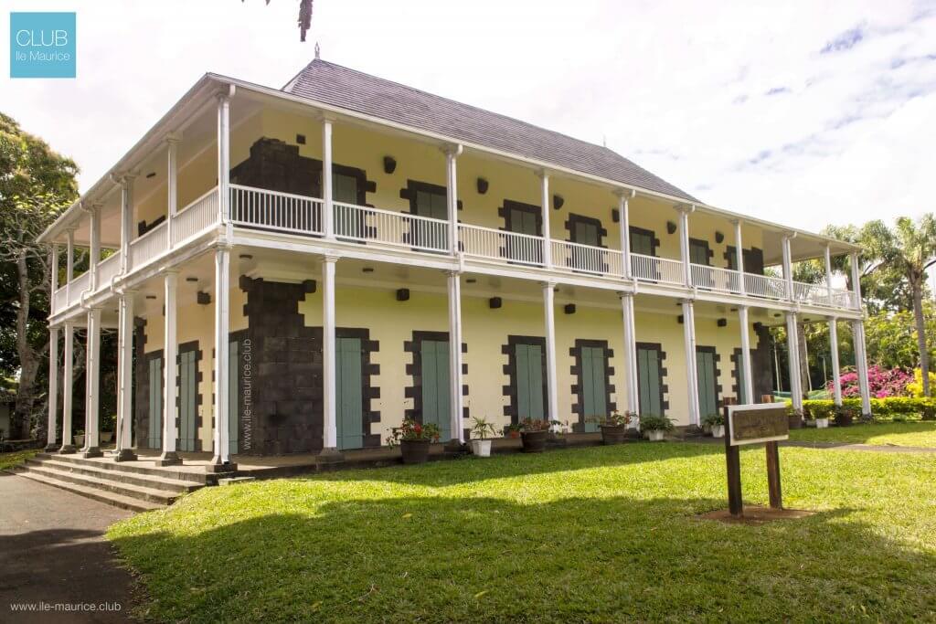 jardin de pamplemousses - chateau de mon plaisir - à l'île Maurice