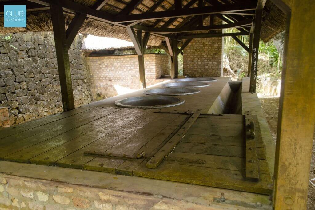 jardin de pamplemousses - fabrication de sucre2