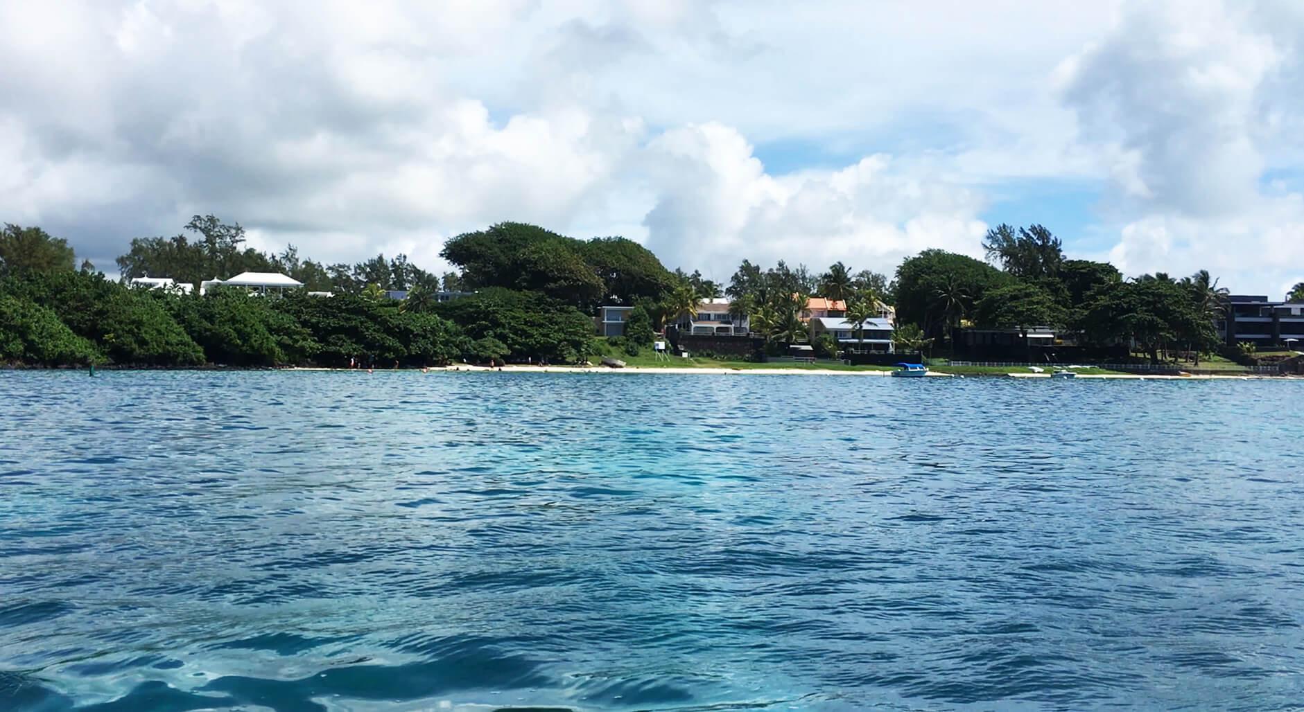 La plage de Blue Bay à Ile Maurice 9
