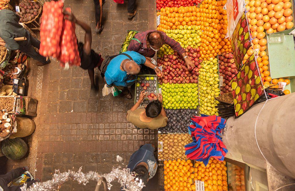 Le marché de Port-Louis