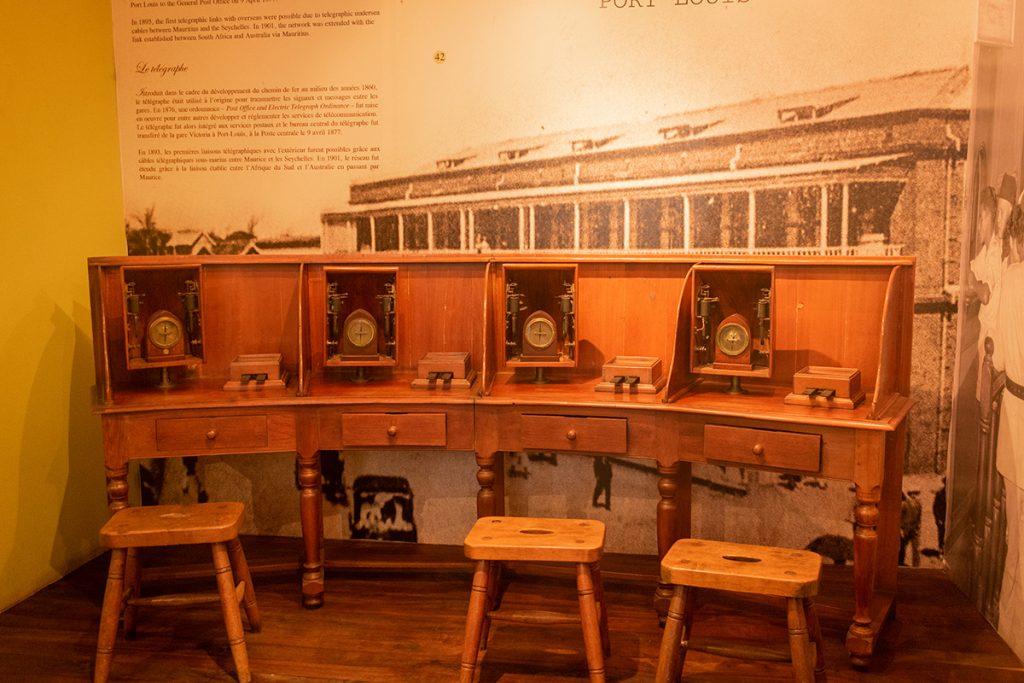 Musée de la poste - les postes