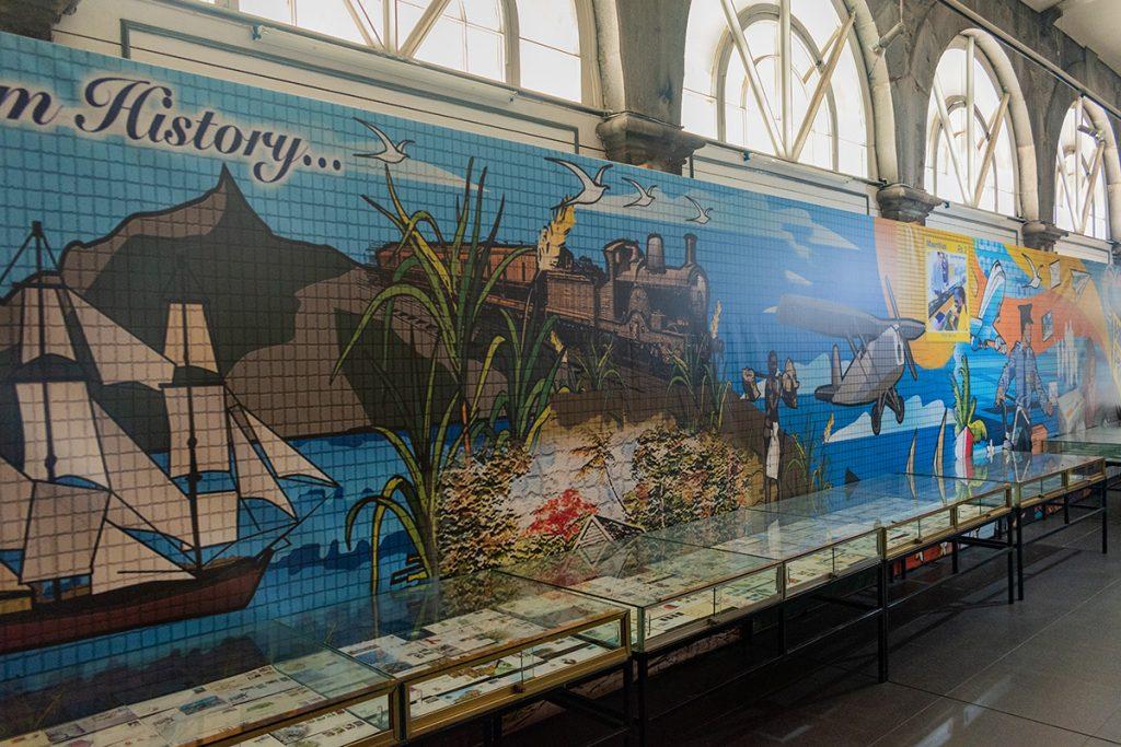 Musée de la poste à l'ile Maurice - histoire