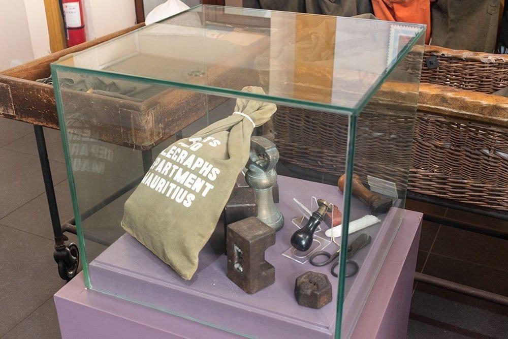 Objects de la poste - Ile Maurice