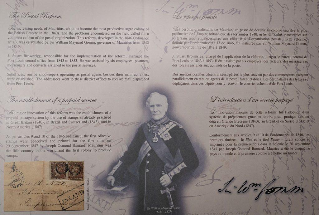 la reforme postale - Ile Maurice